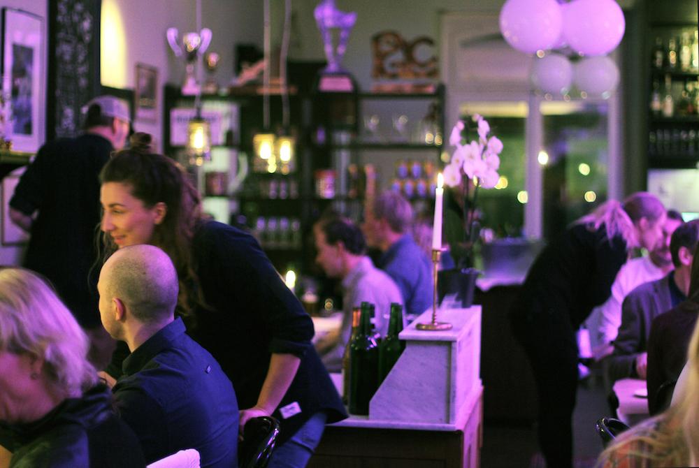 Full house in Brasserie Konrad!