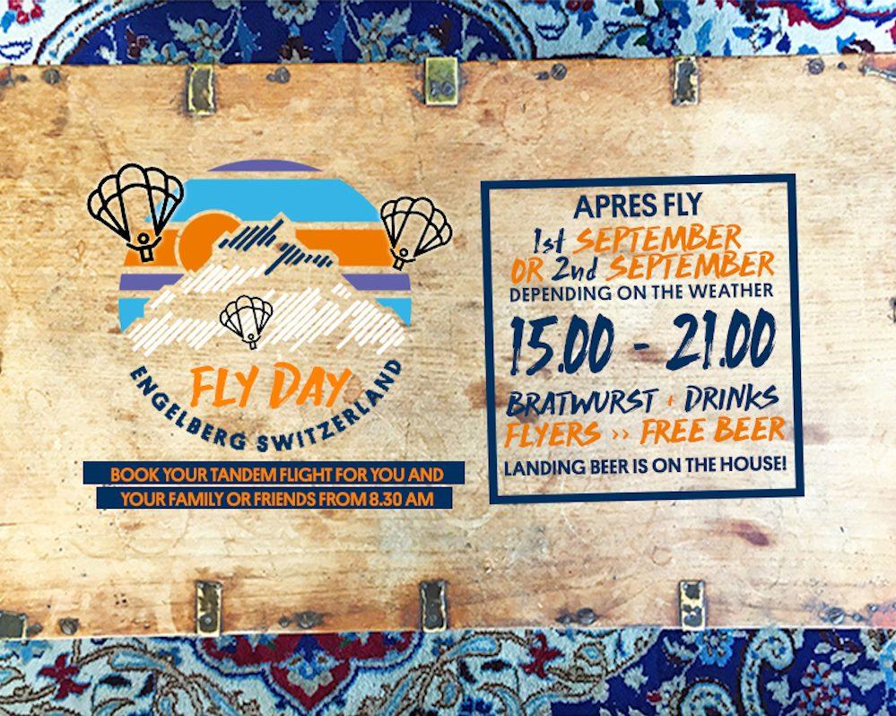 APRES FLY event engelberg.