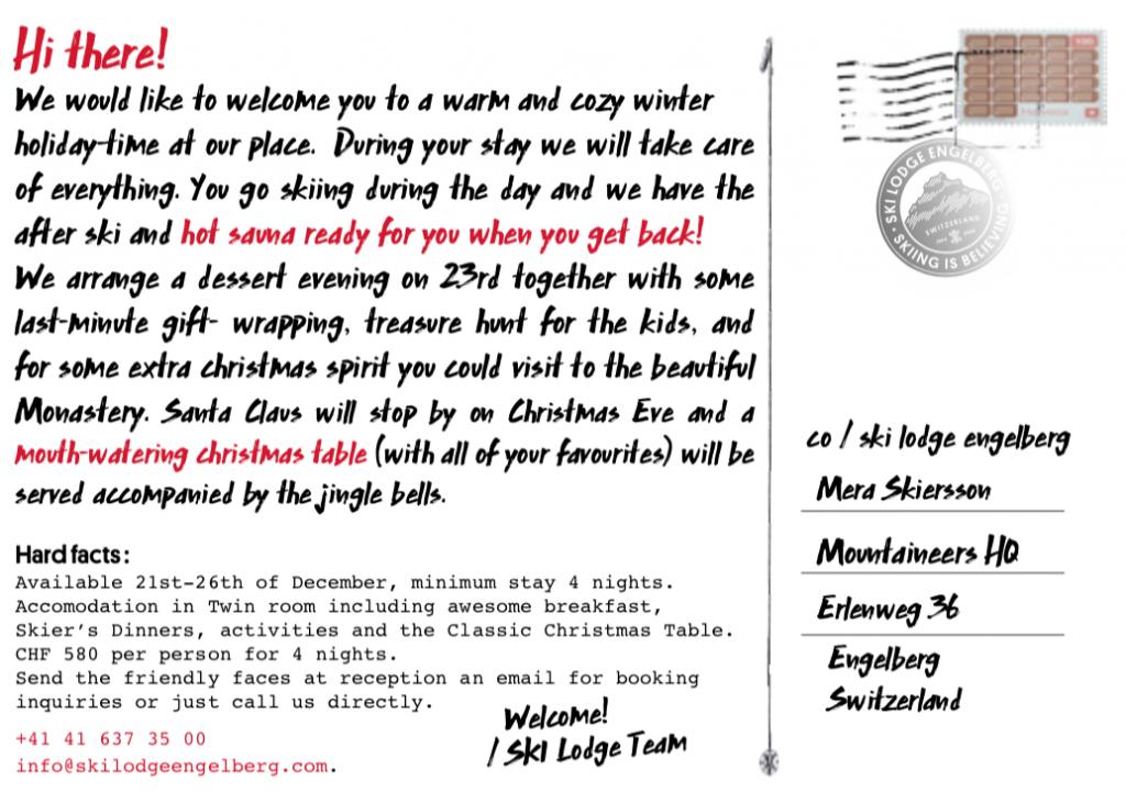 postcard from engelberg