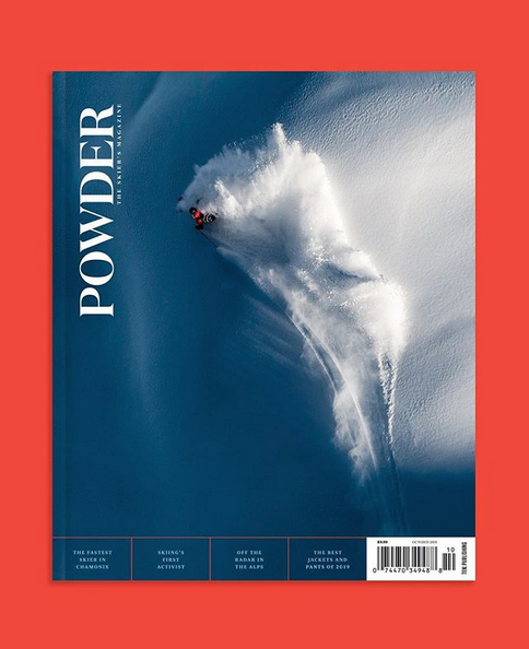 Powder magazine cover, oskar enander and mattias hargin.