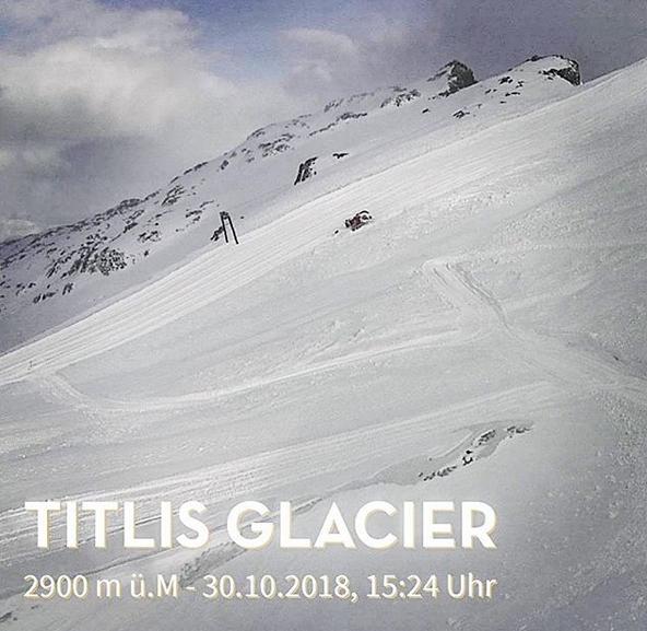 Engelberg open for skiing this weekend.