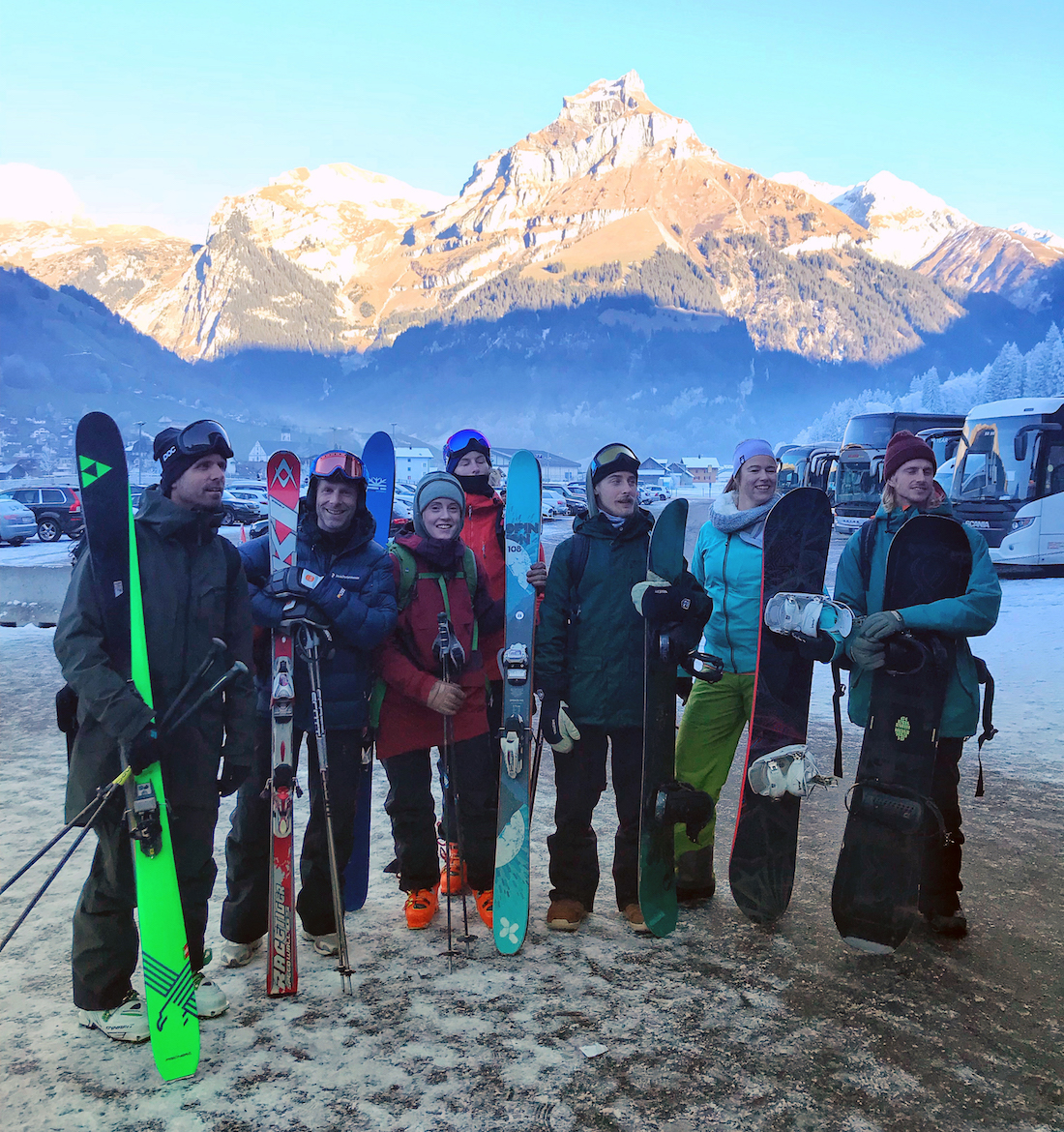 Ski lodge Engelberg Team finished with a leadership course made by Mount To Lead.