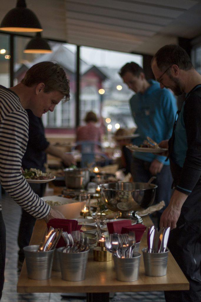BBQ dinner in Engelberg!