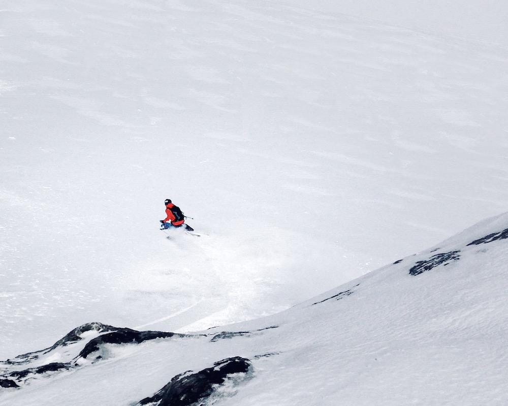 Skiing in May is good in engelberg!