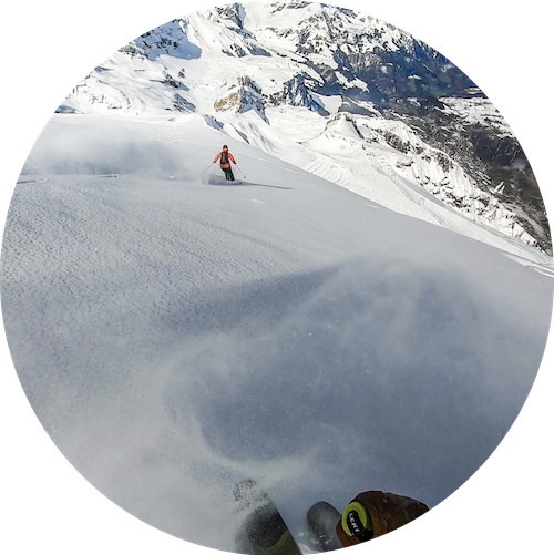 Freeride on Mt Titlis 2020
