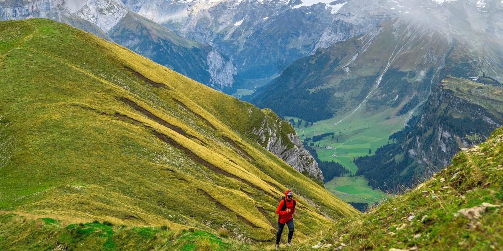 Trailrunning und wandern in Engelberg.