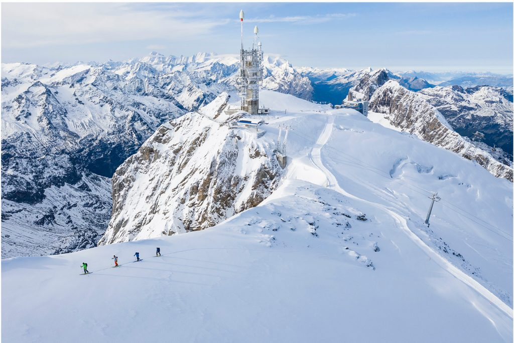 Skitour on Mt titlis 29th of september.