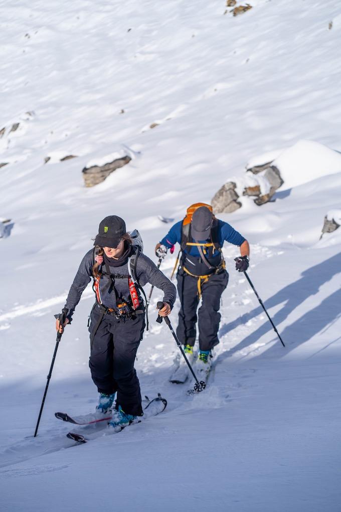 Skitouring Engelberg-Titlis november 2020.