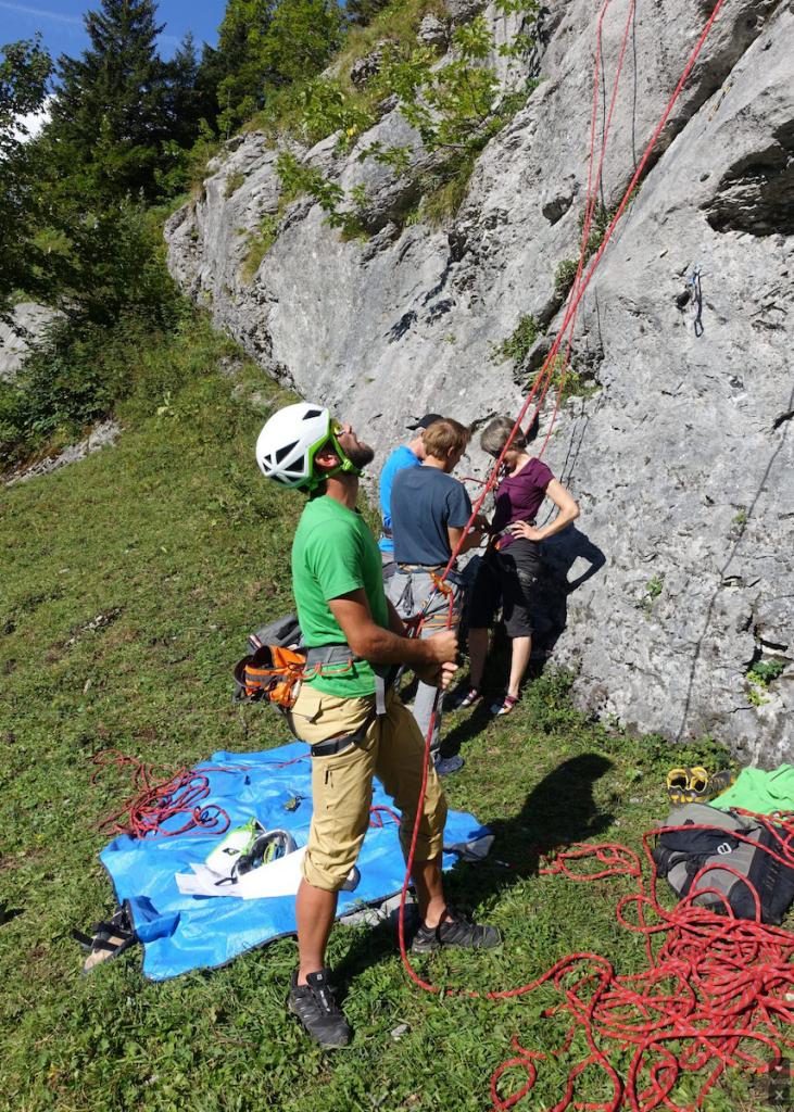 Family camp in Engelberg, summer activities!