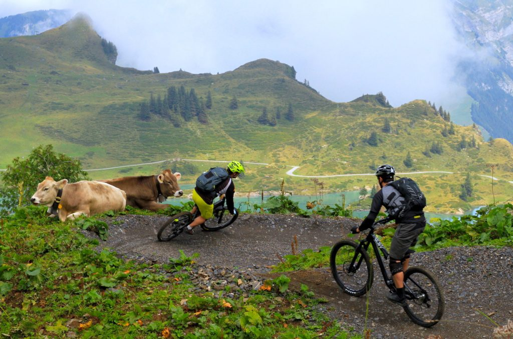 le ripp best mountainbike camp to get better at biking in Engelberg